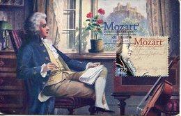 20940 Portugal.  Maximum  Amadeus Mozart 2007,  Vintage Card - Musik