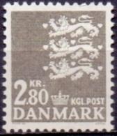 DENEMARKEN 1967 2.80kr RW Grijs PF-MNH - Dänemark