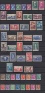 Année 1938 Complète - N° 372 à 418 - Neufs** - Cote = 750.00€