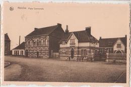 Cpsm Helchin  Place Communale - Spiere-Helkijn