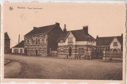 Cpsm Helchin  Place Communale - Espierres-Helchin - Spiere-Helkijn