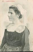 Type Breton -  Jeune Fille De Scaer - Costume - Frankreich