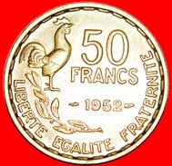 § IV REPUBLIC (1946-1958): FRANCE ★ 50 FRANCS 1952 MINT LUSTER! LOW START★ NO RESERVE! - M. 50 Francs