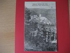Österreich- AK Baden Bei Wien 1928 Im Helenental Mit Ruine Raubenstein - Baden Bei Wien