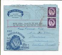 """Visit Rhodesia & Nyasaland"" Air Letter Form, Used 1960  BOURNEMOUTH-POOLE  >Salisbury S. Rhodesia. - Rhodesia & Nyasaland (1954-1963)"