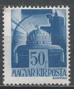 Hungary 1943. Scott #614 (M) Crown Of St. Stephen * - Hongrie