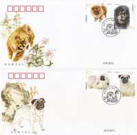 CHINA 2006-6 Dogs Stamps  FDC - 1949 - ... People's Republic