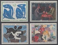 France 1961 N° 1319-1322 MNH Tableaux (E5) - Nuovi