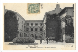 OULLINS (cpa 69)   Le Perron - Le Vieux Château -   - L 1 - Oullins