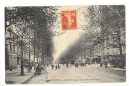 PARIS  (cpa 75)  Rue D'Allemagne Près La Rue D'Hautpoul -   - L 1 - Arrondissement: 19