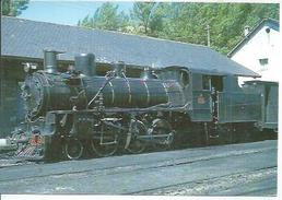 19 - LOCOMOTORA N° 31, CONSTRUIDA POR MAFFEI EN 1913 - ESTACION DE VILLABLINO  ( TRAIN ) - Spain