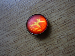 USSR Figure Skating  - Soviet Old Sport Pin - Skating (Figure)