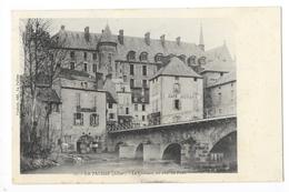 LA PALISSE  (cpa 03)  - Le Château En Aval Du Pont - Café MORAND -   - L 1 - Lapalisse