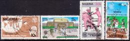 NIGERIA 1983 SG #448-51 Compl.set Used Commonwealth Day - Nigeria (1961-...)