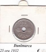 DANIMARCA   25 ORE  1932  COME DA FOTO - Danimarca