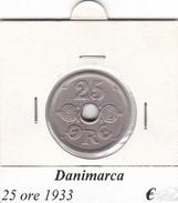DANIMARCA   25 ORE  1933  COME DA FOTO - Danimarca