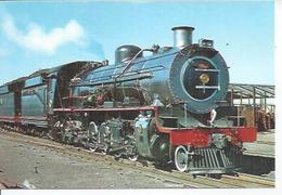 32 - FERROCARRILES DE SUDAFRICA LOCOMOTORA TIPO 14 CRB - DEPOSITO DE PAARDEN EILAND ( CIUDAD DEL CABO ) 14-8-79 ( TRAIN - Spain