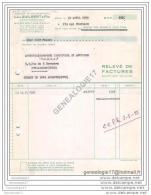 75 11.195 PARIS SEINE 1955 Ets LEON GUILBERT ET FILS Rue Montlouis - France