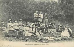 Ref T503- Les Vendanges - Le Repas Sur L Herbe - Edit L Francois - Marcigny - Saone Et Loire  - Carte Bon Etat - - Unclassified