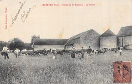 CPA 95 GENAINVILLE FERME DE LA BRETECHE  LEFEBVRE HENRI Beaucoup De Cartes à Vendre Du Dept 95 Dans Ma Boutique - France