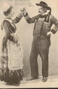 Type Breton - Folklore - Couple De Danseurs - Frankreich