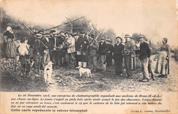 28 - Droué - 26 Novembre 1913 - La Chasse Au Tigre Brillament Illustrée - Autres Communes