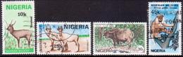 NIGERIA 1984 SG #469-72 Compl.set Used Wildlife - Nigeria (1961-...)