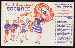 Buvard - Chicoree SOCOREE - Buvards, Protège-cahiers Illustrés