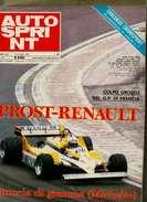 X AUTOSPRINT 28/1981 PROST GP FRANCIA MICHELIN RALLYCROSS RALT F3 F2 JAMES HUNT CANNONBALL - Motori