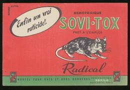 Buvard - SOVI-TOX - Hemotoxique - Blotters