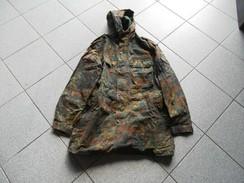 Giacca Esercito Tedesco BUNDESWEHR Mimetica In Flecktarn - Uniforms