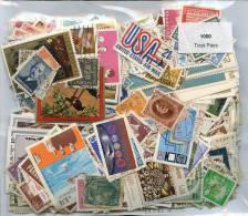 Lot 1000 Timbre Tous Pays - Briefmarken