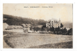 GIROMAGNY  (cpa 90)   Château Ritter -    - L 1 - Giromagny