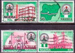 NIGERIA 1985 SG #495-98 Compl.set Used 25th Anniv Independence - Nigeria (1961-...)