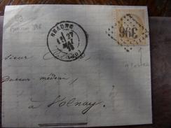 Lot Du 18.04.17_fragment De Beaune .variétés - 1849-1876: Période Classique