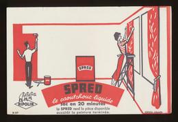 Buvard - SPRED LE CAOUTCHOUC LIQUIDE - Produit Ripolin - Buvards, Protège-cahiers Illustrés