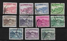 Pakistan 1962 Khyber Pass/Shalimar Gardens, Bengali Inscription, Used (5068)