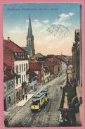 67 - BISCHHEIM - Hauptstrasse Mit Kath . Kirche - Tram - Tramway - Strassenbahn - France