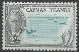 Cayman Islands. 1950 KGVI. 2½d MH. SG 140 - Cayman Islands