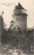 ---- 24 ----  CAZOULES  Ruines Féodales De Mareuil TTB Timbrée - Sonstige Gemeinden