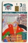 TK14333 JORDAN - Issu. 08/2000