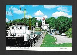 KINCARDINE - ONTARIO - SITUÉ SUR LA RIVE EST DU LAC HURON - TRÈS BELLE PLAGE - PORT DE NAVIRE - PHOTO D. ROSS - Ontario