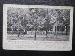 AK WIEN II. Prater J.W.Pilz Restauration Zum Wallfisch 1899 // D*23945 - Prater