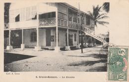 GRAND-BASSAM    La Douane    TB PLAN 1907 - Côte-d'Ivoire