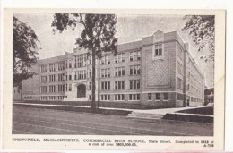 Etats Unis - Mass - Springfield - Commercial Hich School   : Achat Immédiat - Springfield