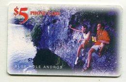 TK14365 BAHAMAS - Chip - Blue Hole Andros