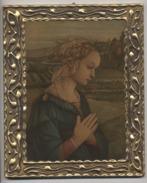 ITALIE - FLORENCE  - RELIGION  -  ICONE  SUR BOIS   -  LIPI  - MADONNA - Religion & Esotericism