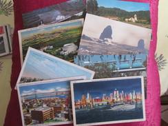 LOT DE 140 CARTES ETATS UNIS ET AMERIQUE  DONT CIRCULEES - 100 - 499 Postkaarten