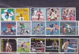 COTE D'IVOIRE: Y&T :sport: Lot De 25 Timbres ** - Côte D'Ivoire (1960-...)