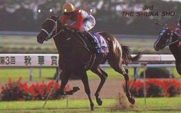 Télécarte Japon * Animal * CHEVAL DE COURSE (153) H0RSE RACING * DERBY * HORSE Japan Phonecard * PFERD * PAARD - Horses